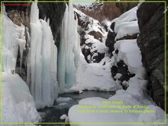 Itinerario invernale in Valle d'Aosta, innamorati in Viaggio