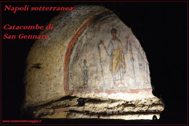Napoli, Innamorati in Viaggio, Catacombe di San Gennaro , copertina