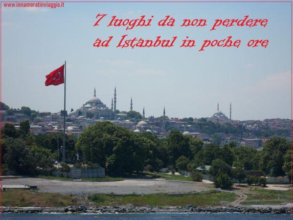 Innamorati in viaggio, Istanbul copertina